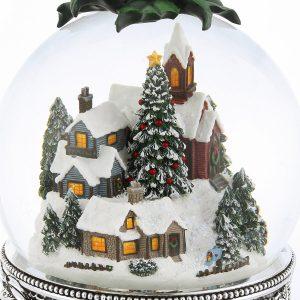 christmas snow globe app